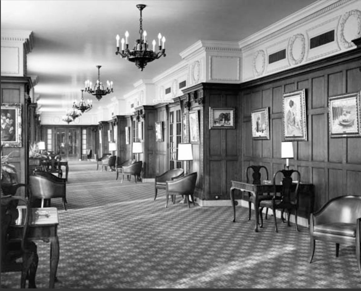 Peacock Alley at the Chateau Laurier, circa 1970. Image Source: http://www.ottawacitizen.com/story.html?id=6690244